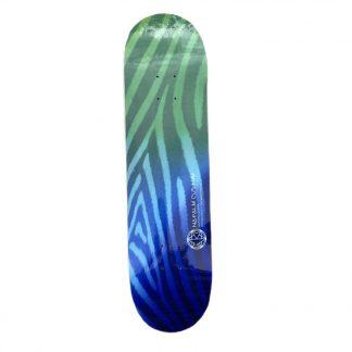 napalm zebra carbon fiber skateboard